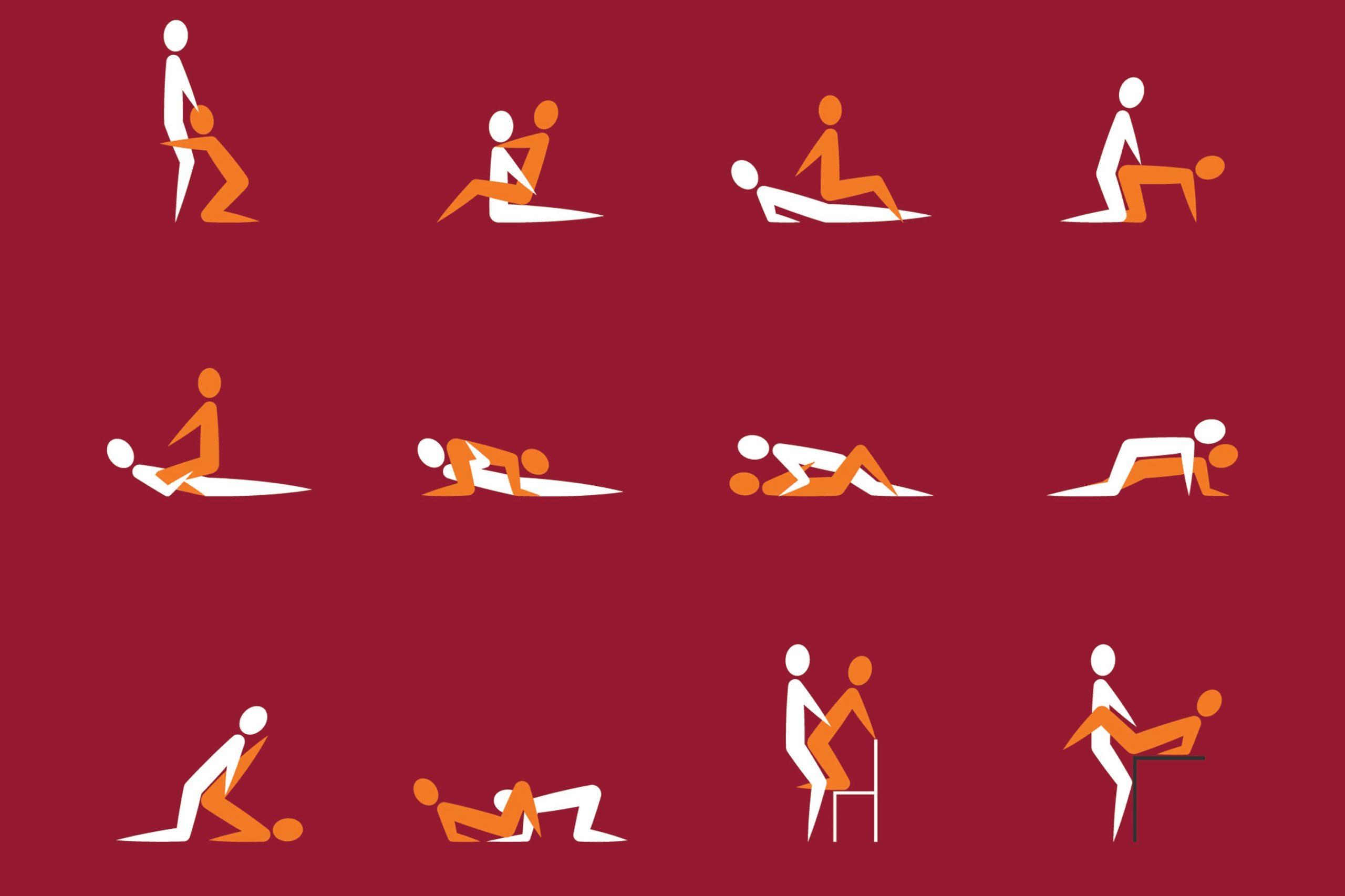 10 posiciones sexuales para quemar más calorías