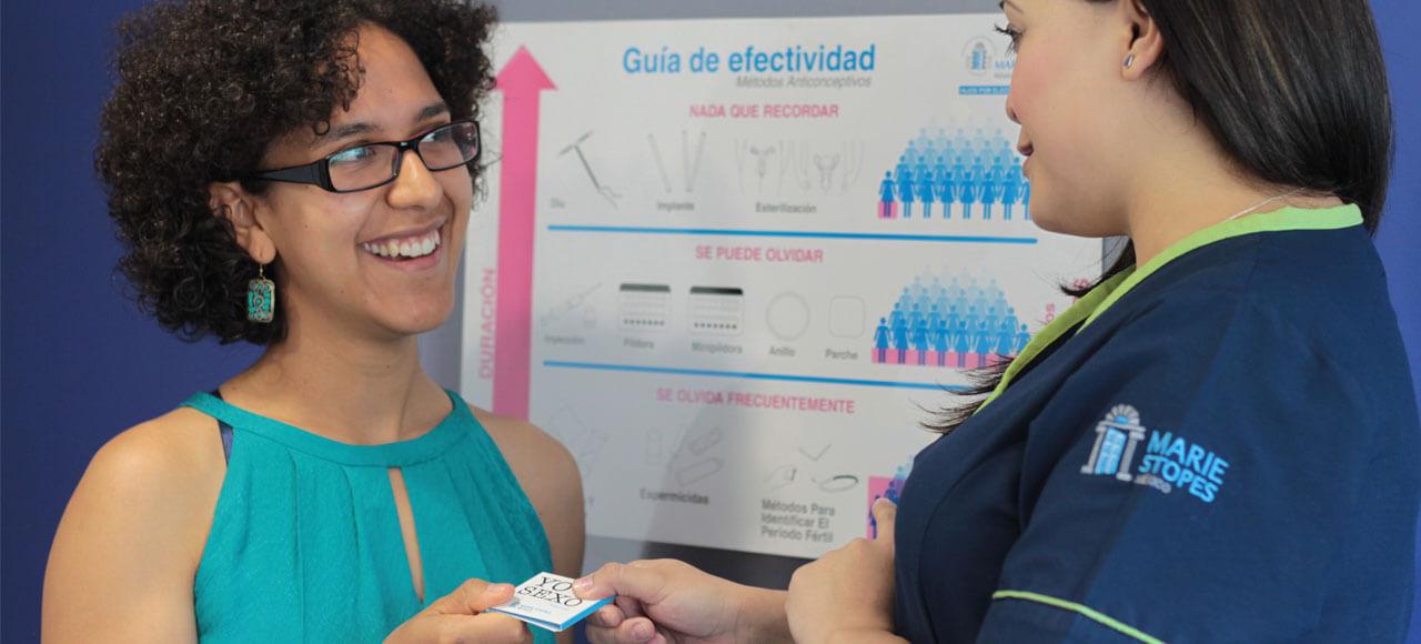 Marie Stopes hace labor social y ayuda a gente a conocer más sobre el aborto o ile.