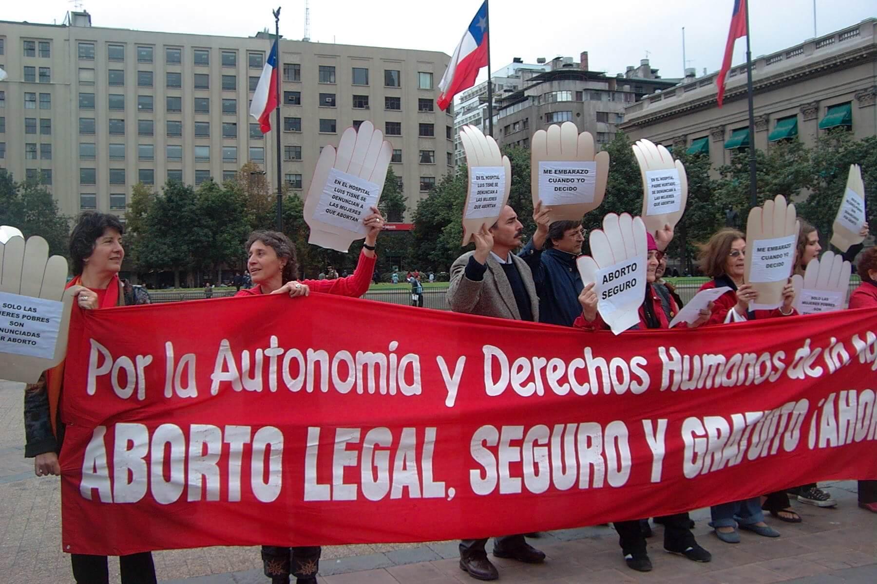 Historias de interrupción del embarazo en Chile