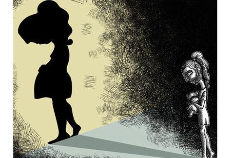 Niñas víctimas de violación, invisibles y forzadas a ser madres