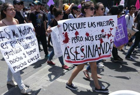 En la CDMX, 500 mujeres en riesgo de feminicidio