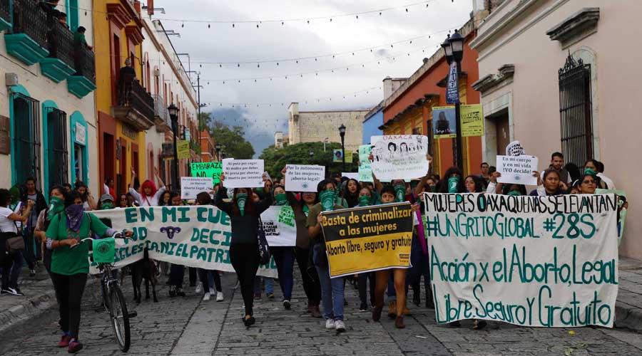 Proponen despenalizar el aborto en Oaxaca