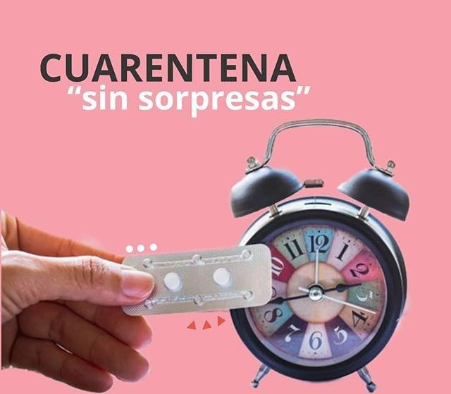 Cuídate de los embarazos en la cuarentena por COVID-19