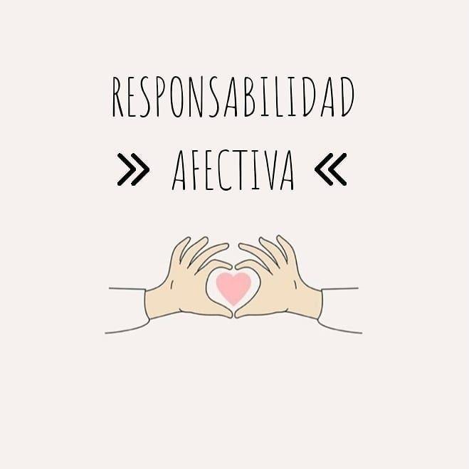 ¿Qué es la responsabilidad afectiva?